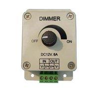 LED Dimmer 12V 8A 96W Adjustable Brightness Controller Light Dimmer 5pcs