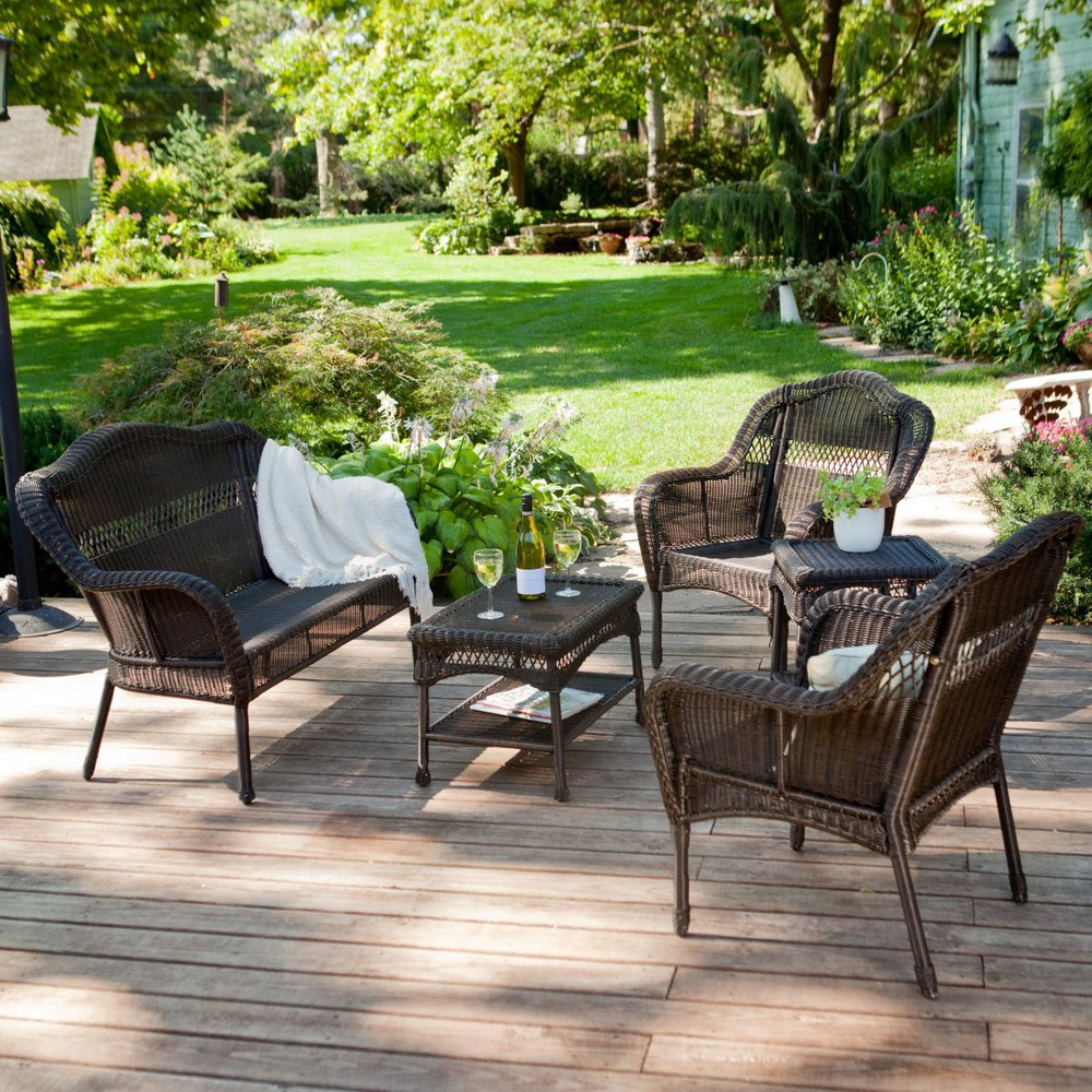 Online get cheap resin patio furniture sets Plastic wicker patio furniture