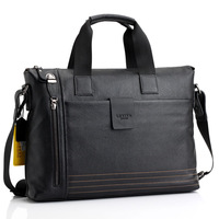 2012 laptop bag commercial male handbag genuine leather casual messenger bag yl05-45
