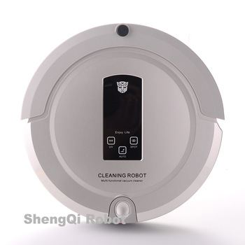 Large LCD display cleaning robot 4 in 1 mutifunctional Robot Vacuum Cleaner