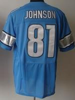 elite jersey Detroit #81 Calvin Johnson american football wholesale free shipping mix order