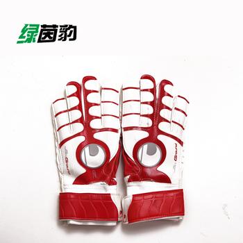 Band finger goalkeeper gloves full latex goalkeeper gloves ls1201