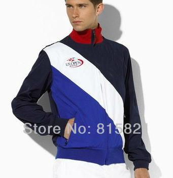 Free Shipping POLO Men's Tennis jackets ,Men's winter Outerwear & coats ,Size M L XL XXL ,Wholesale POLO Men's jackets