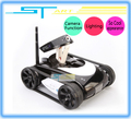 Newest ST287 2.4G 4CH I-spy tank Wifi tank Iphone Ipad Electric Remote Control With Camera Toy For Children Free Shipping(Hong Kong)