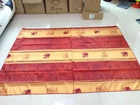 Polyester Table Cloth,printing designs,150x200cm    TB012   Thailand  Elephant  Home textil tablecloth water proof french style