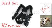 8.5 x 2.5 Meter Agricultural Anti Bird Net Mesh 2 Pcs