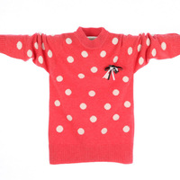 A164 children's clothing female child sweater child sweater female child cashmere sweater child sweater Free Shipping