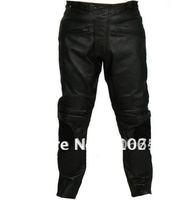 FREE SHIPPING leather racing pants,Motocross,racing,motorcycle,motorbike,cycling leather pants Size:M-XXXL