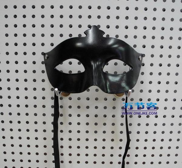 Masquerade masks halloween supplies small pointed toe black(China (Mainland))