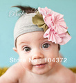 2012 Factory Strawberries and Cream petite Rose SNUGARS headband baby