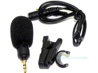Free Shipping!!Brand Professional Stereo Recording 3.5MM Micphone MIC For Univesal&I'phone