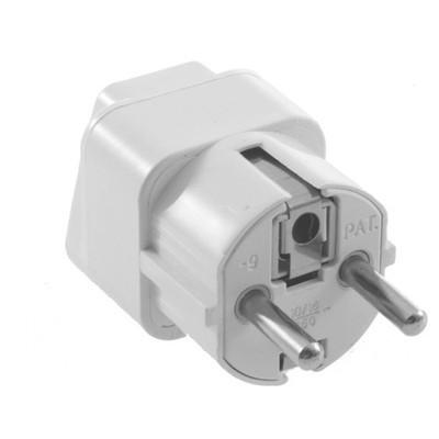 Universal AU US UK to EU AC Power Plug Travel Home Converter Adapter, Free Shipping