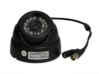 black / infrared camera / plastic casing dome camera with 24LEDs