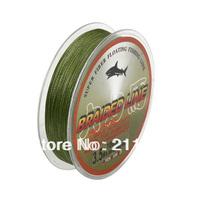 Wholesale - Free shipping100m 8LB10LB15LB20LB30LB40LB50LB65LB80LB grass green braided  fishing  line dyneema fishing tackle