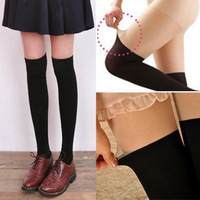 Two Tone Pantyhose Splicing Stockings Black Thigh Leggings Fashion