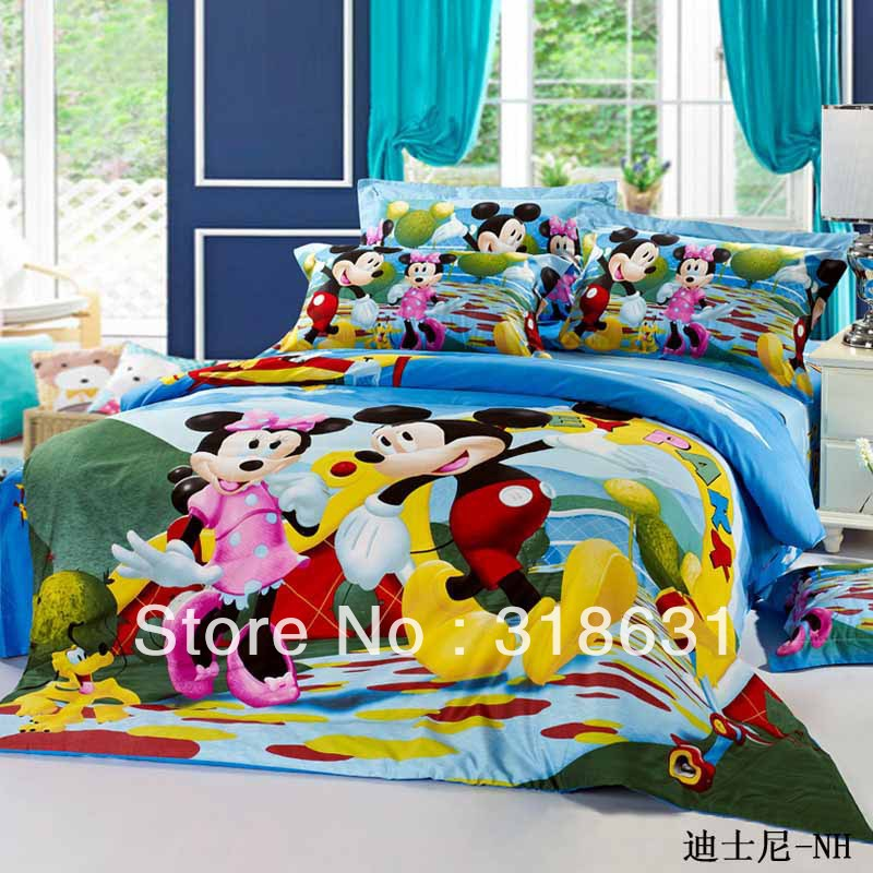 Wholesale Hot ! 100% Cotton Pop Happy Mickey And Minnie Mouse ...