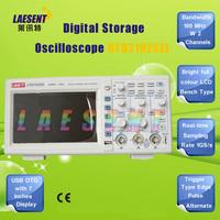 Freeshipping, 2CH 100MHZ digital Oscilloscope UTD2102CEL