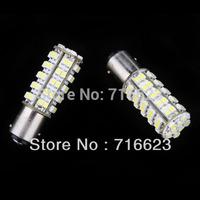 2X1157 BAY15D 7528 68 LED 3528 SMD Brake Light Bulb White