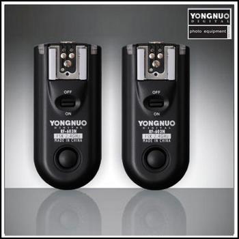 Yongnuo RF-603 N3, RF603 RF 603 Flash Trigger 2 Transceivers for NIKON D600 D90 D5000 D5100 D3100 D7000
