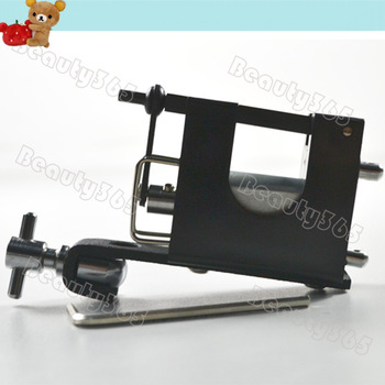 New Pro Strong Black Alloy Rotary Tattoo Machine Equipment  Motor Tattoo Gun Free Shipping 2779