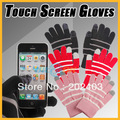 Winter Touch Screen Gloves Warm Texting Strech Adult One Size for iPhone iPad Smartphone