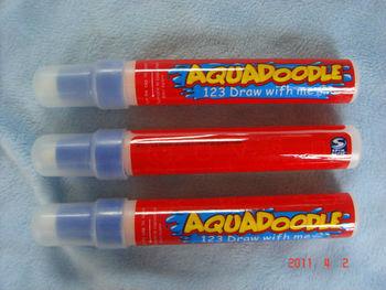 Drawing pen American Aquadoodle Aqua Doodle Magic Pen/Water Drawing Replacement 20pcs/lot 9312 Free shipping