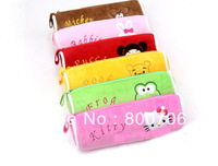 Free Shipping(25pcs/lot)New Arrival Lovely Cool Cat Pencil Case, Pen Pouch Bag,Storage Bag,Comestic Bag,