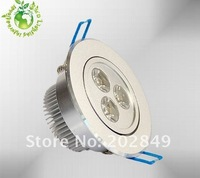 Factory Wholesales 50pieces/lot 3w 220v 270-300LM dimmable led downlight warm white/cool white  led ceiling light Free Shipping