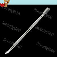10pcs/lot New Cuticle Nail Art Pusher Spoon Remover Manicure Tool Pedicure  Cuticle Cutter Cut Remove 4479