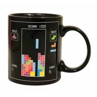 Novelty Mug 10 oz Tetris The Heat Change Mug Perfect Gift for Tetris fans