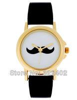 Hot-selling mustache wrist watch Performance lasting Movement Free shipping DHL 200 pcs/lot Many design