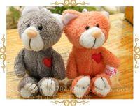 Plush toy nici lovers love cat key pendant lovers doll