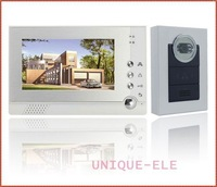 "7"" photo-memory HD LCD TFT key panel Doorbell Doorphone Intercom indoor video"