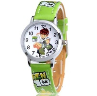 2013 New brand boy child cartoon watch for children watch cool box primary school student  quartz silicone watch free shipping