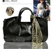 HOT/2012 Cheap beautiful leisure women handbags/Litchi grain the PU leather shoulder bag,Z-161/Free shipping