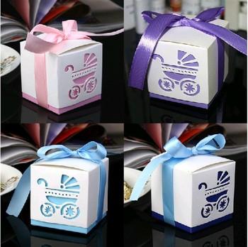 Free Shipping Damask Wedding favor paper box favour gift candy boxes pink purple Bule Dark bule 100pcs/lot