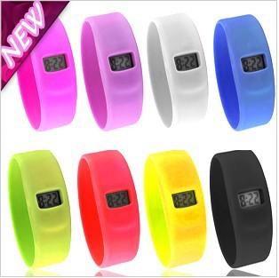 holesale - 100pcs/lot Silicon Sport Dive Watch Ion Candy Jelly Watch,Digital Watches,Anion Wrist Wa(China (Mainland))