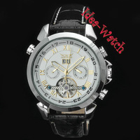 Men's Luxury Swiss AUTO Sports 6 Hands Tourbillon Mechanical Wrist Watch
