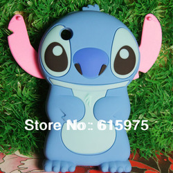1 Pcs/lot New Stitch 3D Silicone Soft Cover Back Case FOR Apple iPhone, 3 3G /3GS,mobile phone case Free Shipping(China (Mainland))