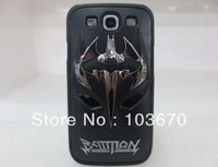 New Arrival Fashion Design Superhero Batman 3D Hard Case for Samsung Galaxy S3 III i9300 Mobile Phone Cover, Free Shipping