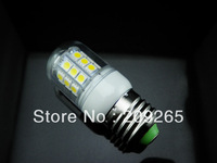 E27 10-30V AC/DC 7W Cold white / Warm White 360 Degree 5050 SMD 30Led Light Bulb Lamp Energy Saving #K63