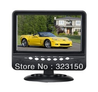 8inch 7.5 inch 7inch TFT LCD color Analog TV with FM radio,Support USB/SD/MMC,speaker,Multi-language menus,AV In/AV Out