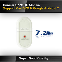 UNLOCKED HUAWEI E220 3G DONGLE HSDPA USB MODEM 7.2Mbps wireless network card for car DVD GPS & Android tablet PC Freeshipping