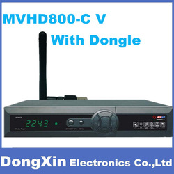 3PCS X Newest Set Top Box MVHD800C With Wifi Dongle To Singapore Digital Cable Receiver FY HD800-C V For Singapore,Free DHL/EMS(China (Mainland))
