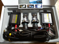 Free shipping, Xenon HID Kit 2xH4 Bi-xenon bulbs +2pcs AC 35w Ballast, High quality