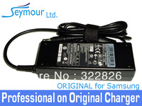 DHL FREE SHIPPING For Original Samsung Laptop AC Adapter Charger / 19V 4.74A 90W / For Samsung NP-R580 / NP-Q430 / S310 / S300