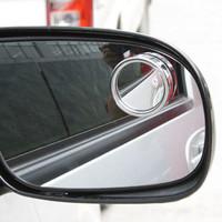 Adjustable rear view mirror small round mirror blind spot mirror rear view mirror reflective mirror car rearview mirror