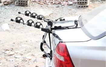 hot sale aluminum alloy  bike rack,  car  luggage rear rack for 3 bicycle  NB-0018