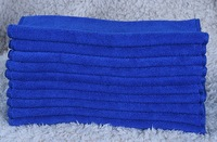 70CM X 140CM Blue Bath towel Absorbent Microfiber Towel Cleaning Cloth