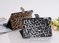 Leopard Pattern Leather Case Leather Cover For iPad Mini